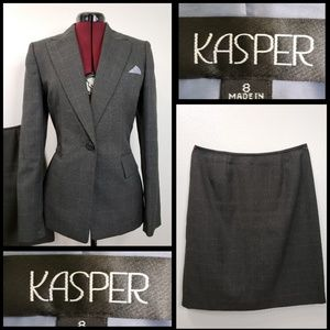 KASPER woman casual formal career skirt and suit